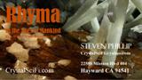 Rhyma Book Promotional Business Card